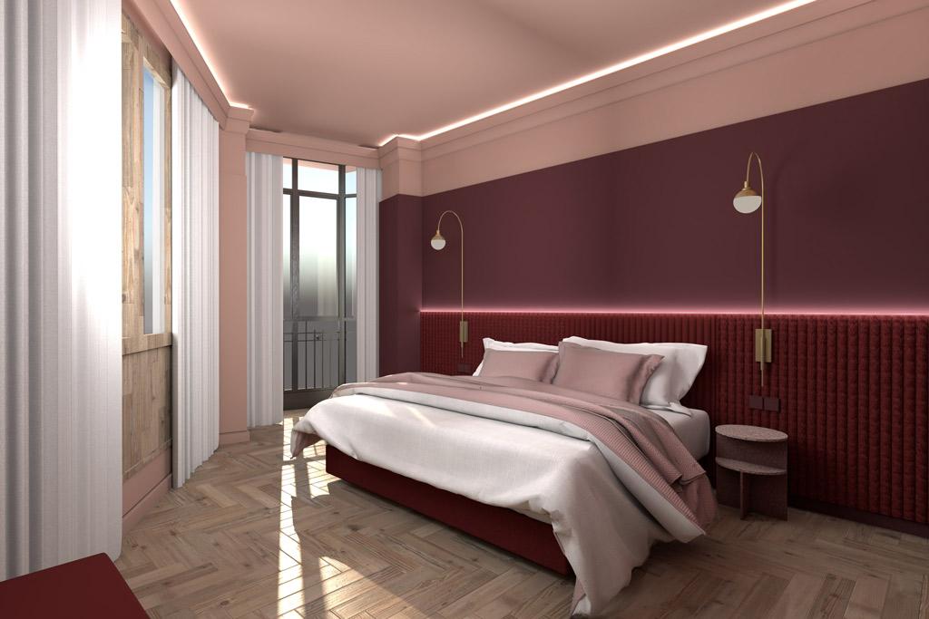 Hotel-Gran-Via-56-Poliol-habitacion-con-cama