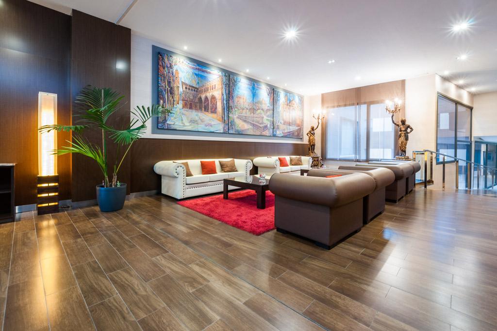 Hotel-ciudad-de-Alcañiz-Poliol-Áreas-comunes